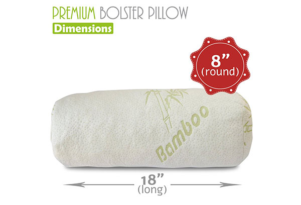 Bamboo Bolster Pillow by Premium Bamboo