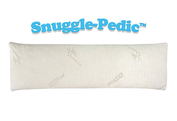 Combination Bamboo & Memory Foam Body Pillow by Snuggle-Pedic