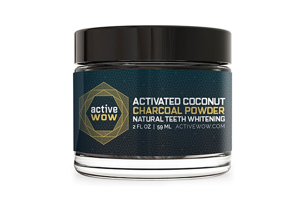 Teeth Whitening Charcoal Powder by Active Wow